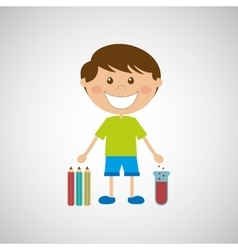 education school student child people kids vector image