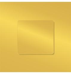 golden board vector image