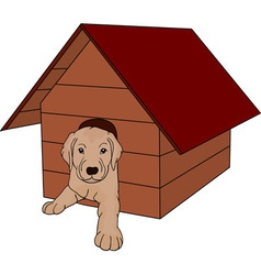 House dog vector