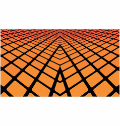 orange geometric abstract background vector image vector image