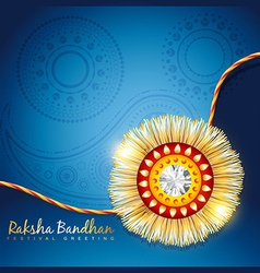 Raksha bandhan festival background vector