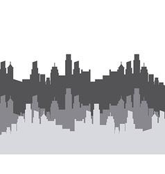 cityscape background design vector image