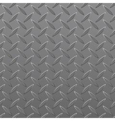 Diamond Plated Seamless metal sheet vector image