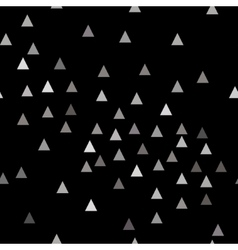 Triangle chaotic seamless pattern vector image vector image