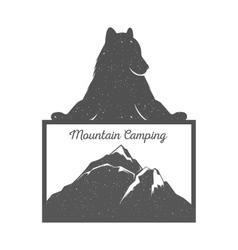 Fun Bear vector image