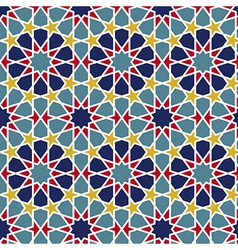 Arabesque seamless pattern vector
