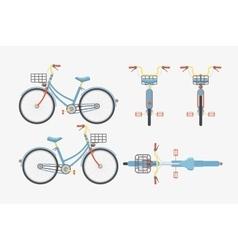Bike one 1 vector image