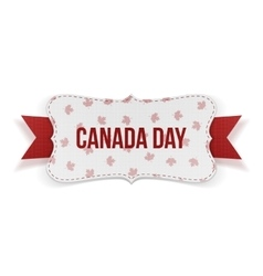 Canada Day realistic national Banner vector image