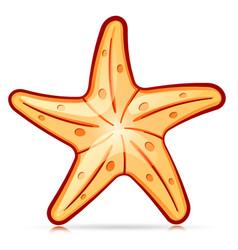Decorative starfish symbol design vector