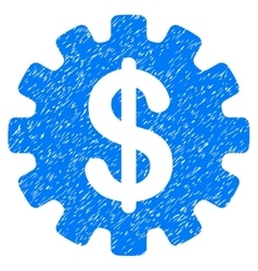 Development Cost Grainy Texture Icon vector