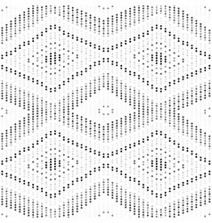 Dotted decorative pattern - seamless vector