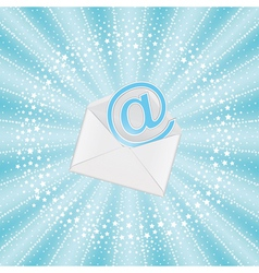Envelope with email vector