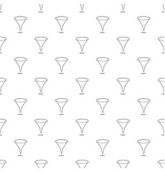 Funnel icon outline vector