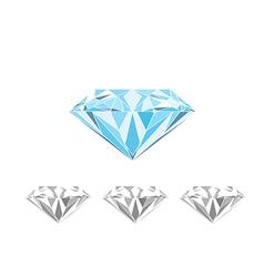 Large blue diamond vector