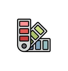 Pantone flat icon sign symbol vector