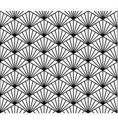 seamless geometric pattern in style kumiko vector image