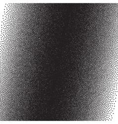 Stochastic raster halftone gradient print vector