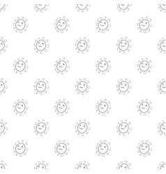 Sun pattern seamless vector
