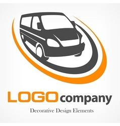 Van logotype vector image vector image