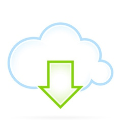 Cloud Computing Icon Download vector