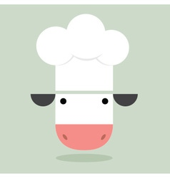 Cow Chef vector