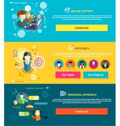 Customer service concept vector