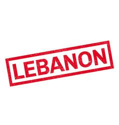 Lebanon rubber stamp vector image