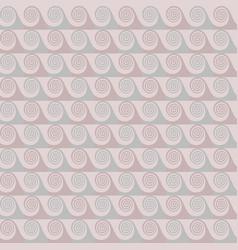 pastel shades abstract waves seamless pattern vector image