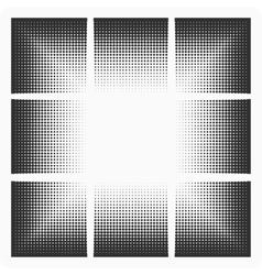 spot blackout vector image