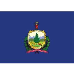 Vermont flag vector