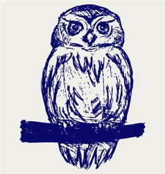 Great Owl vector image vector image