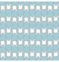 teeth pattern seamless vector image