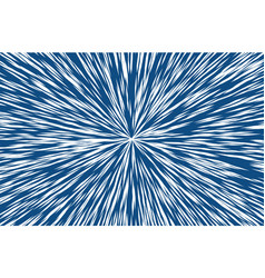 classic blue trendy color sun rays or explosion vector image