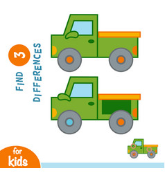 Find differences pickup vector