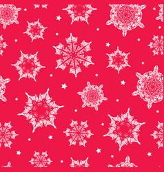 Holiday vibrant red hand drawn christmas vector
