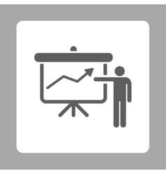 Project Presentation Icon vector image