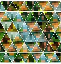 The geometric pattern vector image