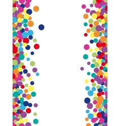 Colorful abstract spot background vector image vector image