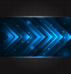 Abstract techno background with set transparent vector