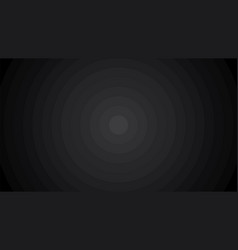 black abstract radial step gradient background vector image