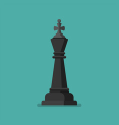 chess figure icon vector image