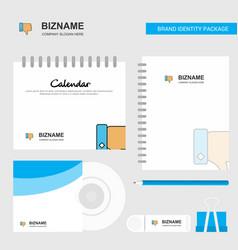 Dislike logo calendar template cd cover diary and vector