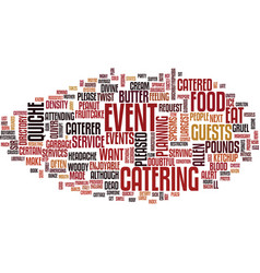 Food glorious food text background word cloud vector