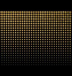 Golden blots grunge urban background texture vector