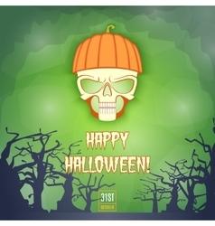Happy halloween banner2 vector