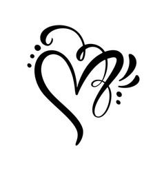 Heart love sign romantic vector