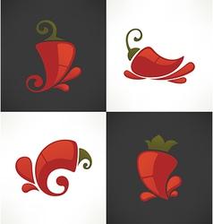 Pepper symbols vector