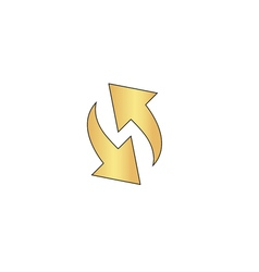 reload computer symbol vector image