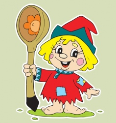child cartoon vector image vector image