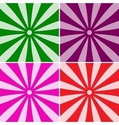 Abstract sun rays vector